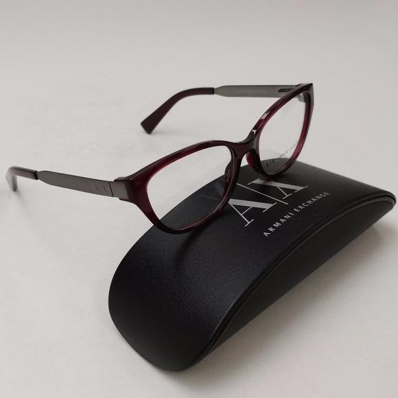 fc091e126e49 Armani Exchange AX3033 8003 Eyeglasses  EUI324